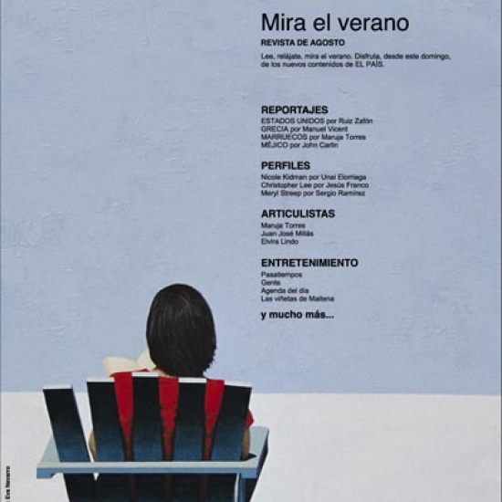Advertising for El País